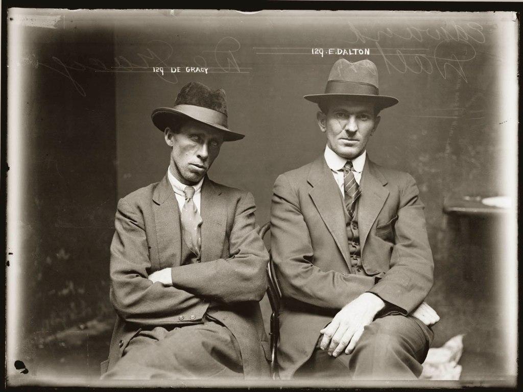 De Gracy and Edward Dalton (mugshot), ca. 1920