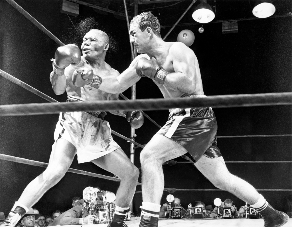1952 Jersey Joe Walcott - Rocky Marciano