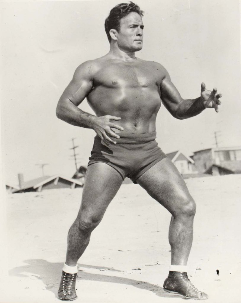 Jim Londos, World Heavyweight Wrestling Champion, 1939