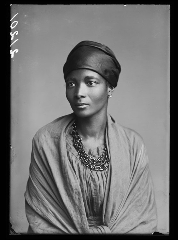 Mrs Eleanor Xiniwe (nee Ndwanya) of the African Choir, 1891. Photographed by London Stereoscopic Company studios. Courtesy of Hulton Archive/Getty Images