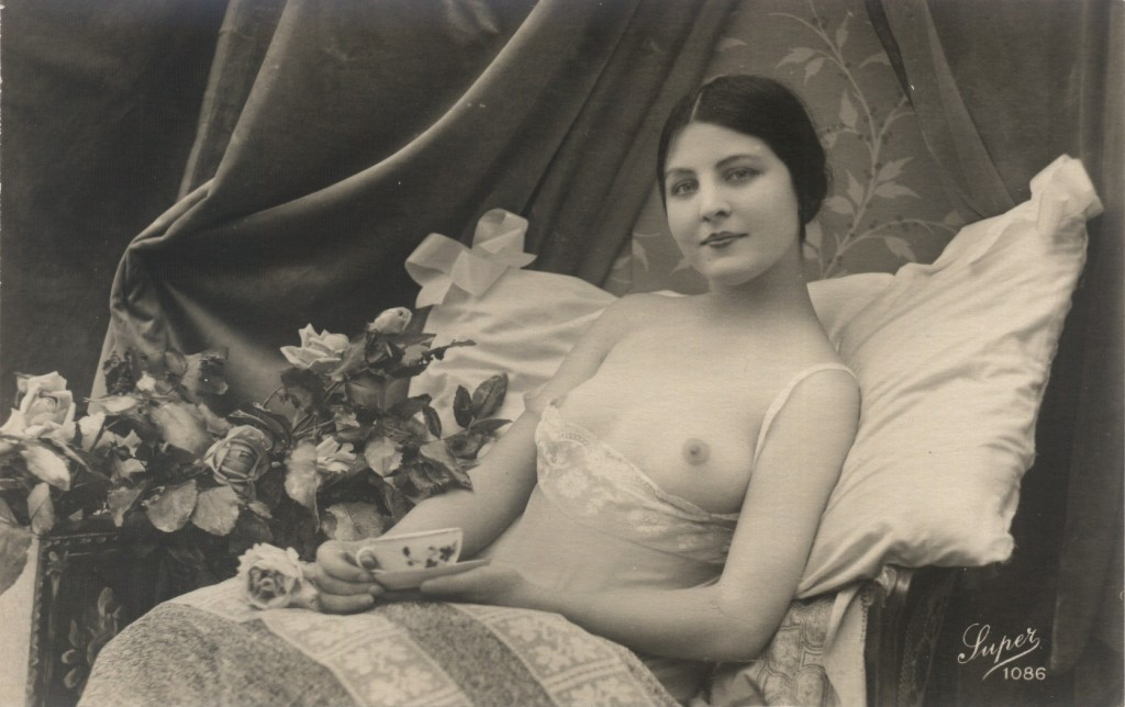 French postcard of Jeanne Juilla, ca. 1930's