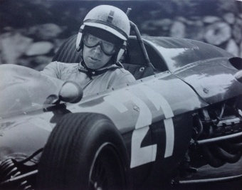 John Surtees driving a Ferrari T56 - Formula 1 Grand Prix de Monaco, 1963 (p: Yves Debraine)