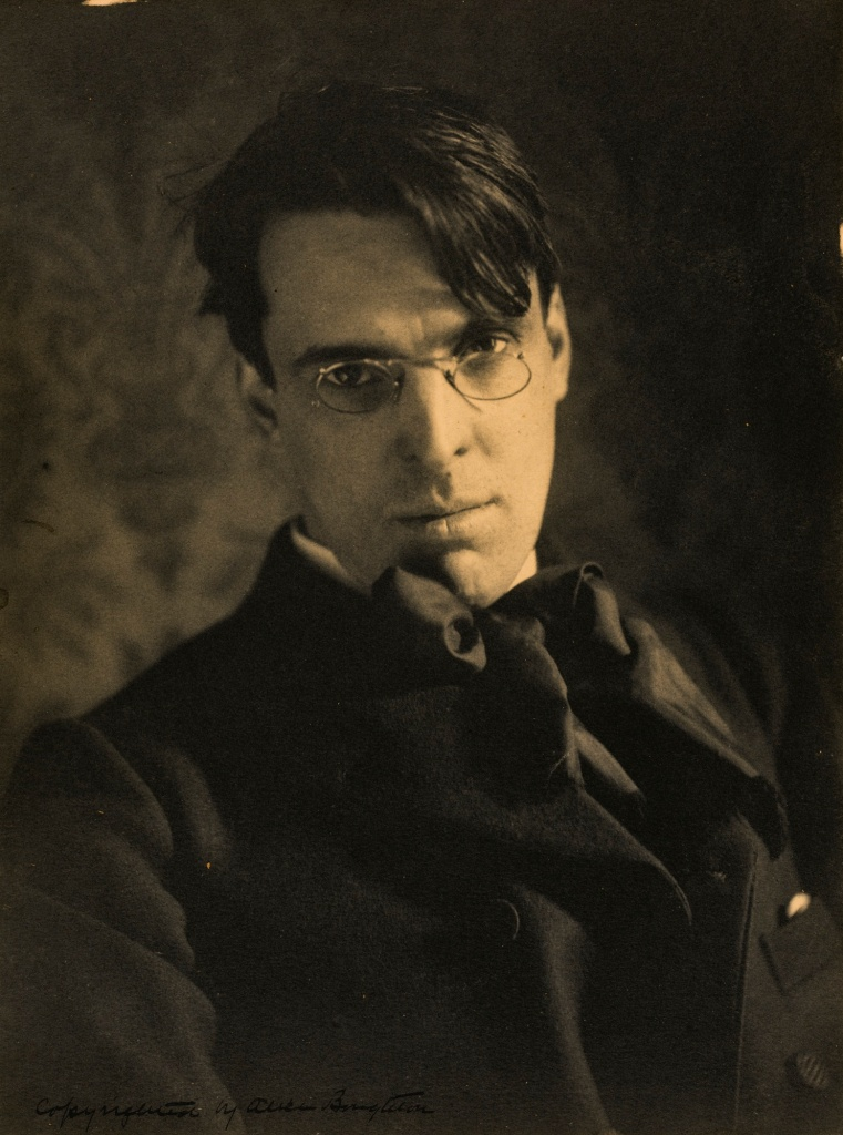 William Butler Yeats, 1903 (Alice Boughton / William Michael Murphy Collection?)