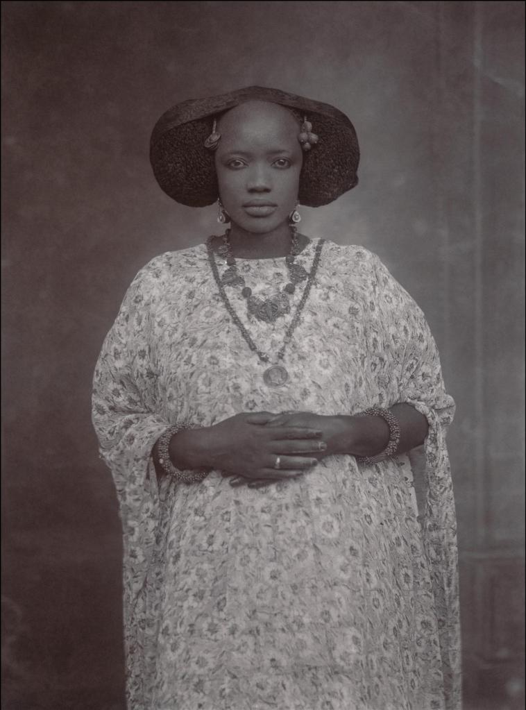portrait of a woman senegal ca 1910 colorem